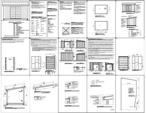 Free 8 X 16 Shed Plans by 187 Free 10 X 16 Storage Shed Plans Pdf 8 X 8 Storage Shed