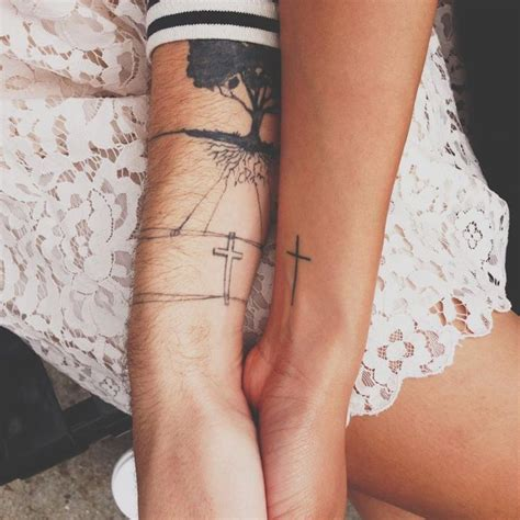 matching cross tattoos 8 best tattoos images on ideas tatoos