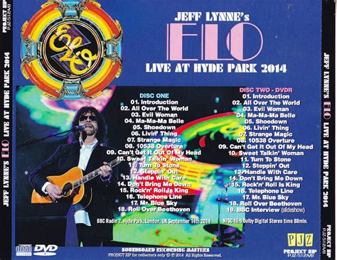 jeff lynnes electric light orchestra live at hyde electric light orchestra jeff linnes elo live at hyde