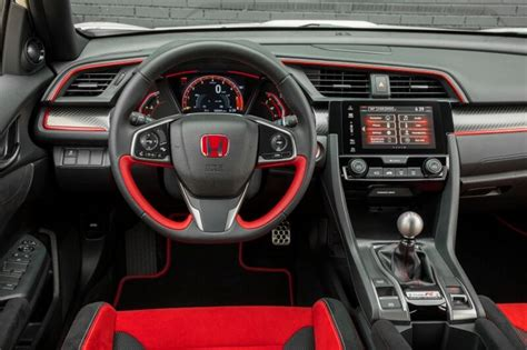 2017 Honda Civic Type R Automatic by 2017 2018 Honda Civic Type R Interior Inside Cabin