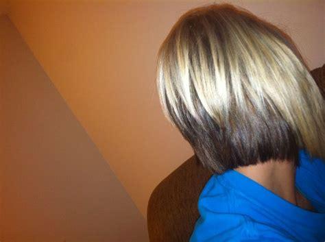 blonde bobbed hair with dark underneath blonde bob with brown underneath fun hair ideas pinterest