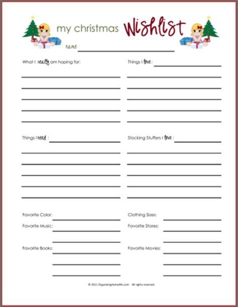 lists printables  boys girls  organizing homelife
