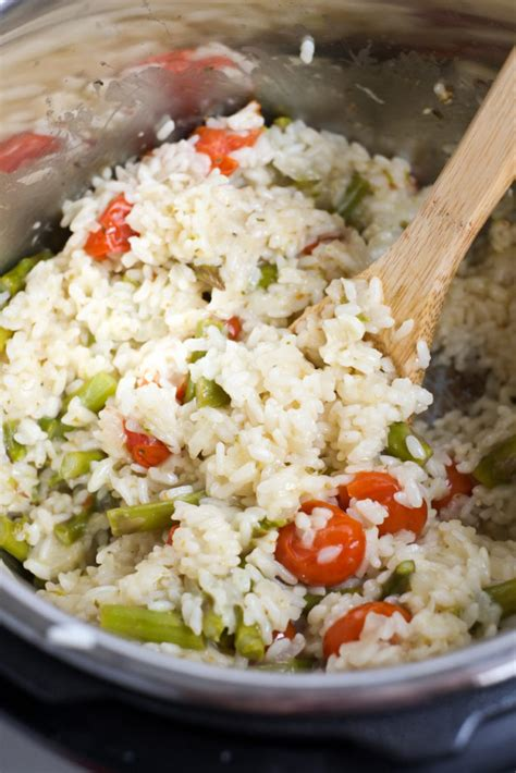 instant pot parmesan risotto 365 cheesy instant pot risotto with veggies recipe
