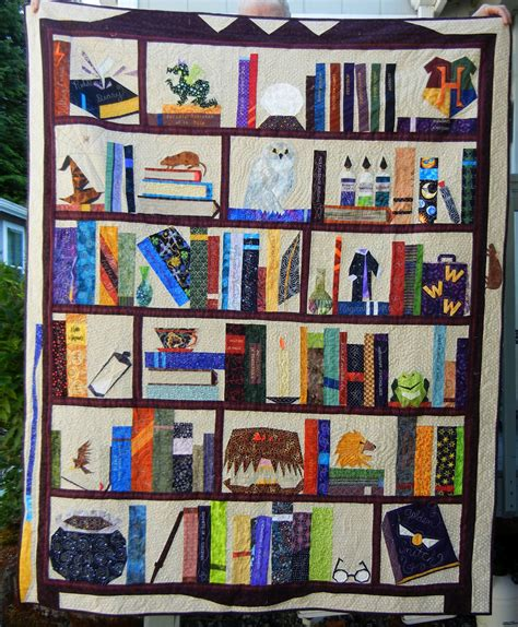 Harry Potter Quilt by Judy S Quilts And Thoughts Harry Potter Quilt