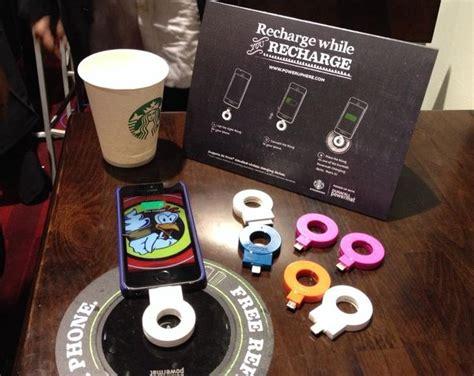 Diy Wireless Phone Charging Station starbucks to hook up wireless charging stations in shops