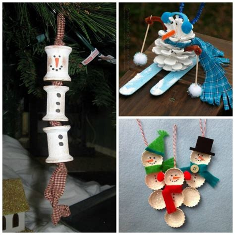 religious ornaments to make 27 diy snowman ornaments for snowman ornament crafts