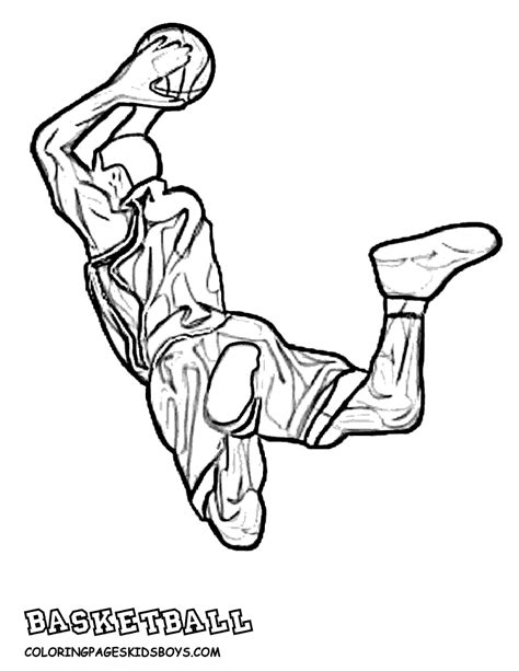 coloring pages of basketball players of the nba free nba coloring pages coloring home