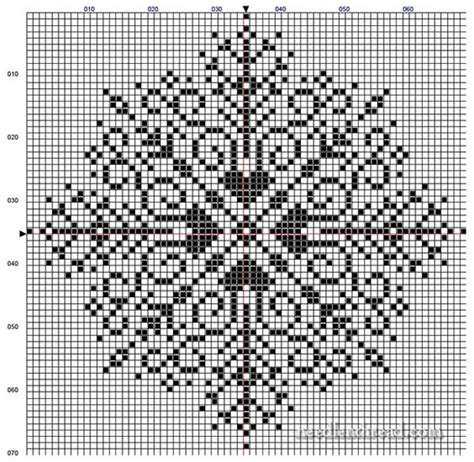 snowflake pattern cross stitch the mother of all snowflakes free pattern stitches