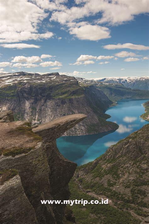 fjord adalah ya aurora ya fjord ya trolltunga itulah yang dicari