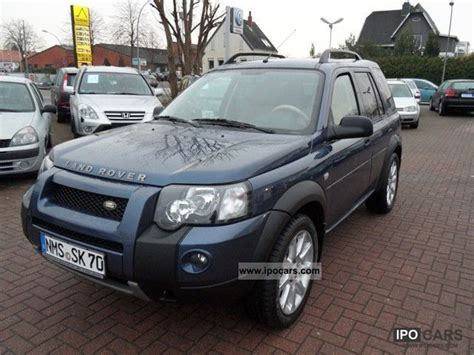 land rover freelander 2005 land rover freelander 2005 mpg