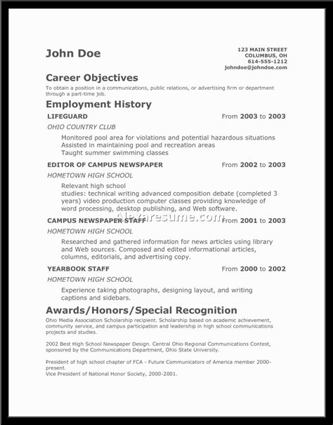 Resume Builder Sample resume resume resume sample in professional resume resume samples