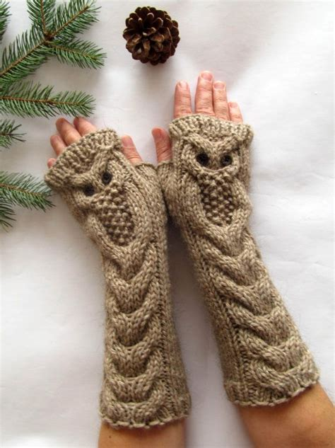 how to knit a owl owl mittens knitting pattern free search