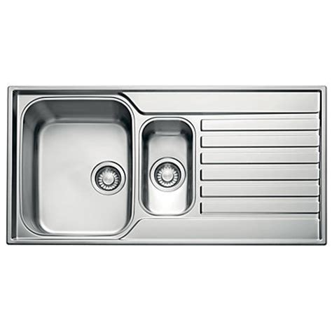 homebase kitchen sinks franke ascona 651 kitchen sink 1 5 bowl
