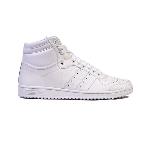 top adidas running shoes adidas top ten hi running white s shoes s84596 ebay