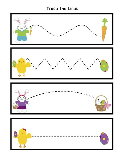 worksheets for preschool easter easter tracing sheets search results calendar 2015
