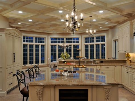 elegant kitchen designs elegant long island kitchen design for a large scale room