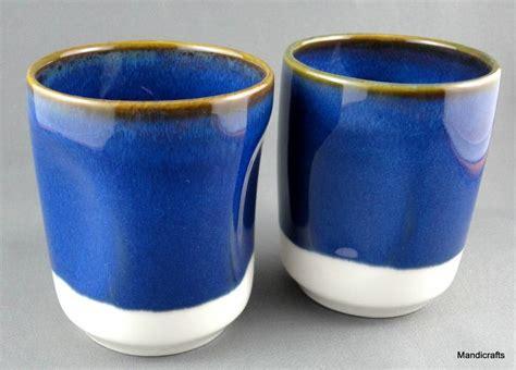 coffee cup no handle starbucks tea coffee mug x 2 beaker cup no handle grip