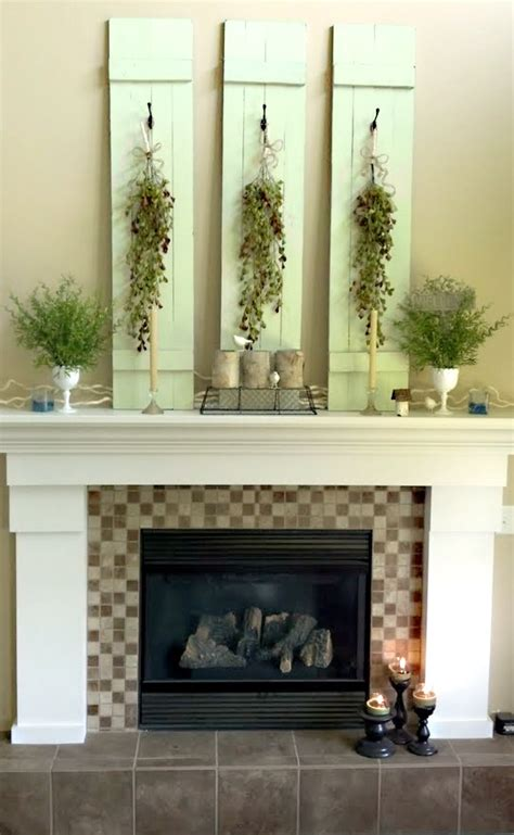 Decorating Ideas For Mantels 42 Awesome Summer Mantel D 233 Cor Ideas Digsdigs