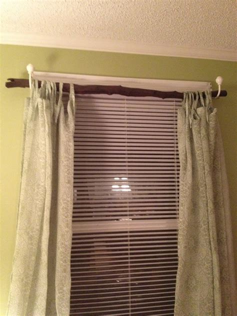 tree curtain rod tree branch curtain rod my creations and crafts