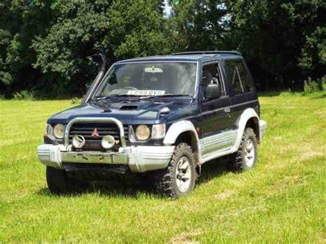 mitsubishi pajero spares or repairs car for sale
