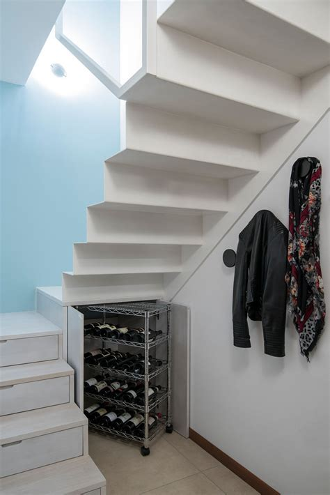stairs wine storage stairs design idea hide shoe and wine storage within
