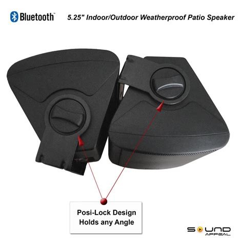 outdoor patio speakers wireless bluetooth outdoor speakers for patio or pool with