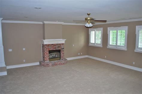 wallpaper to complement grey walls wall color to complement red brick fireplace she s a