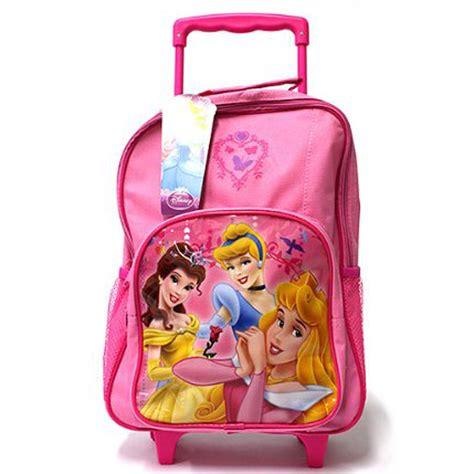 Baby Bag 2 In 1 Bag Karakter Disney Princess kinder disney und figuren trolley mit r 228 dern reisetasche