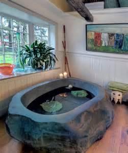 rock bathtub unique freestanding bathtubs that add flair to your bathroom
