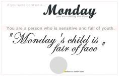 More On Monday One By Child by Zodiac Sign Virgo August 23 September 22 On