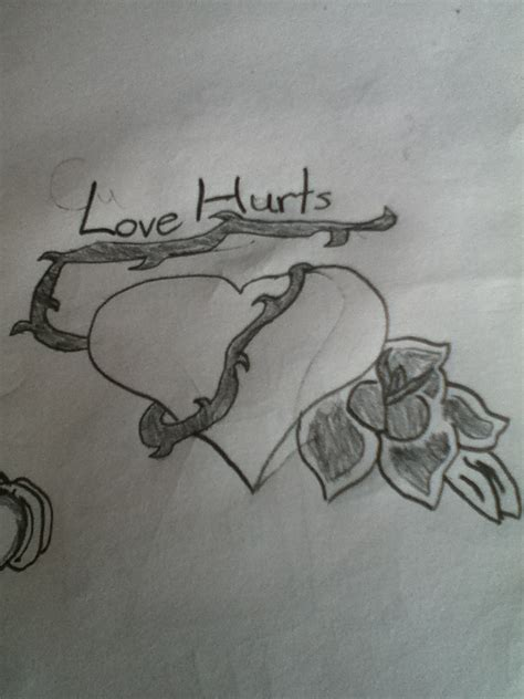 love hurts tattoo pin hurts pictures to pin on