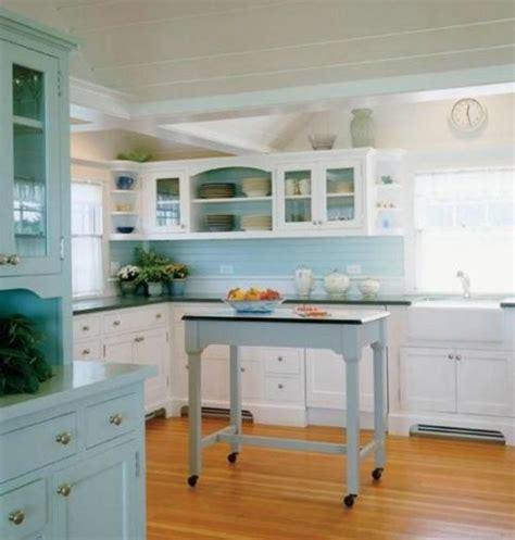 wood  green kitchen seaside coastal kitchen