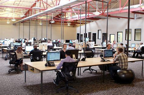 Making An Open Plan Office Productive Desktime Insights Open Floor Plan Office Increase Productivity