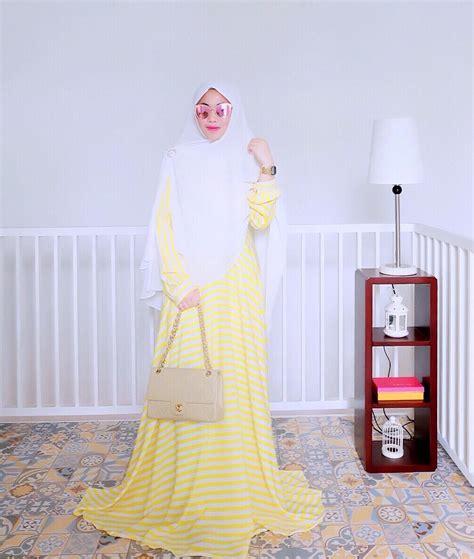 Gamis Modern 2017 17 Trend Baju Muslim Terbaru 2017 Yang Akan Populer