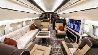 private jet interiors a private jet interior furnished like a vintage train