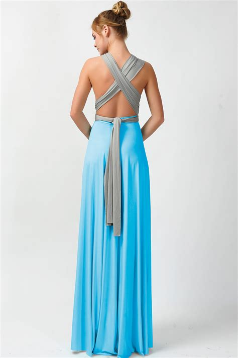 Two Color Dress 40382 convertible dresses two colors bridesmaid dresses gray and blue gt 5 73 80 infinity dress
