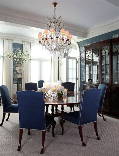 Blue Dining Room Furniture Royal Blue Dining Chairs Beautiful Dining Areas Pinterest Beautiful Table And Chairs