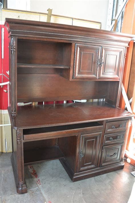 modern desk with hutch modern mahogany finish desk with hutch