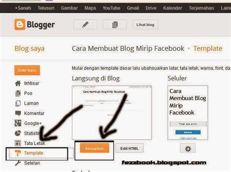 cara membuat blog yang menarik untuk pemula cara mudah membuat blog keren di blogspot