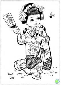 japanese coloring pages japanese coloring page dinokids org