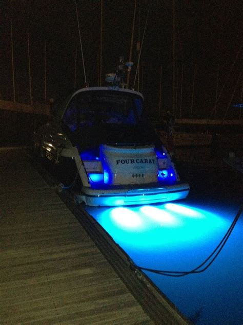 Led Underwater Boat Lights by Featured Boat Fairline Targa 43