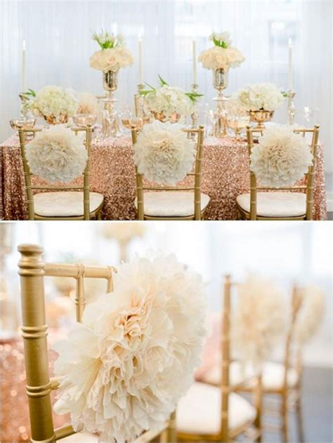 gold wedding table decorations ideas oosile
