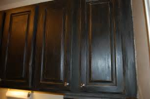 Janet s black caromal coloured oak cabinets fabulously finished