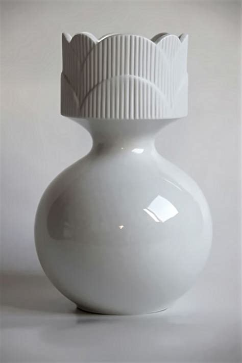 Vintage White Vases by 475px 713px Vintage White Vase Heinric Ceramics And