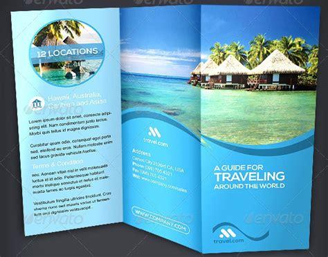 35 beautiful travel brochure template designs tutorial zone