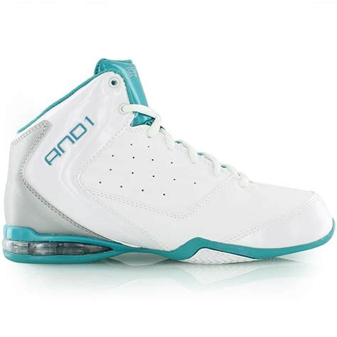 and1 womens basketball shoes and1 wmns master 2 mid white silver tropical bei kickz