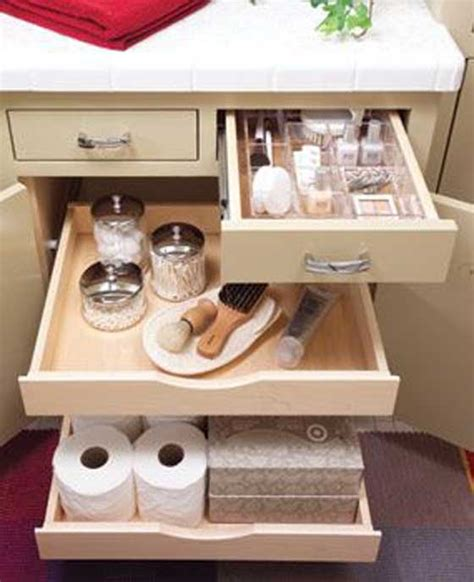 bathroom vanity drawer storage ideas 23 luxury bathroom pull out storage eyagci