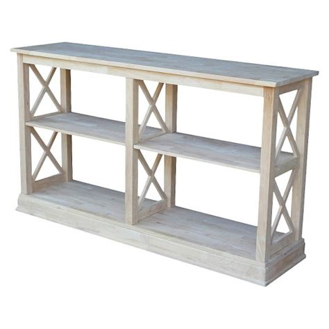 Server Table by Hton Sofa Server Table With Shelves International Concepts Target