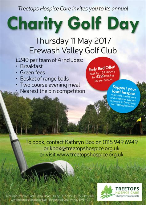 charity golf day invitation letter golf day 2017 treetops hospice care