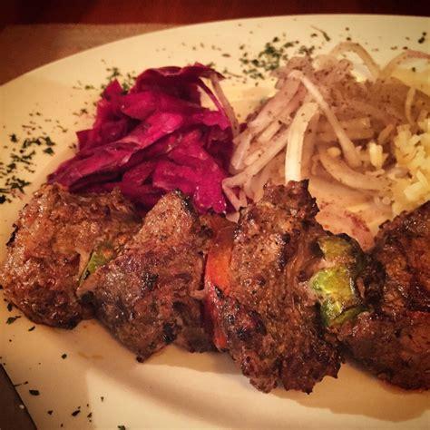 Beef Kebab Size Medium beef kebab cooked to medium perfection yelp